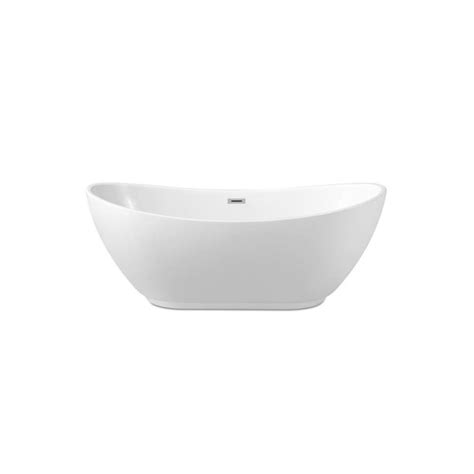 62 Streamline N-580-62fswh-Fm Soaking Freestanding Tub .